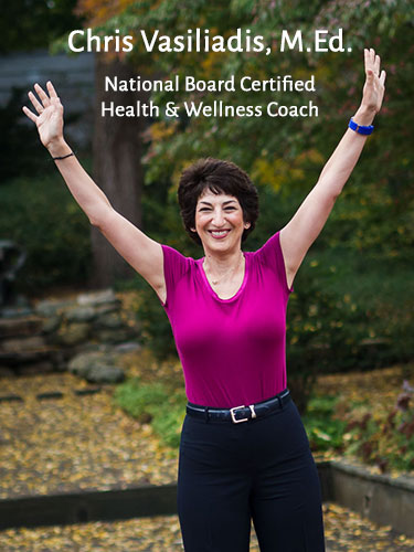 Chris Vasiliadis, M. Ed. National Board Certified Health & Wellness Coach